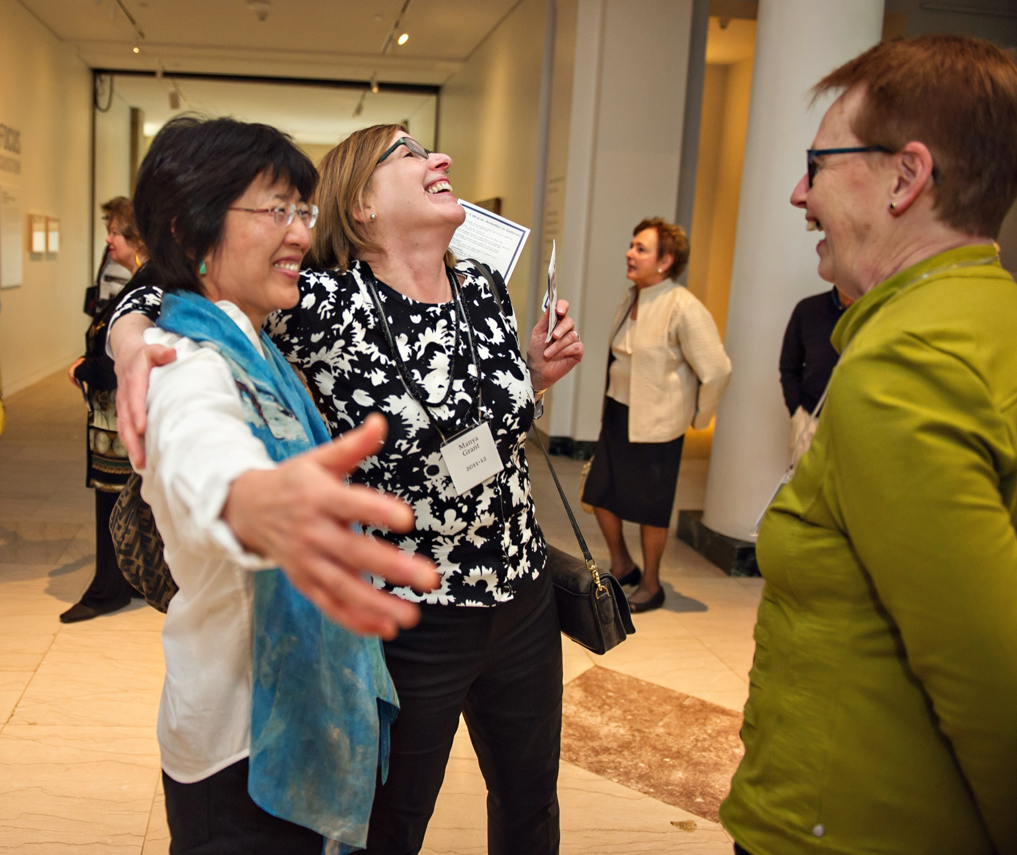UMMA Docents celebrate 40 years of service