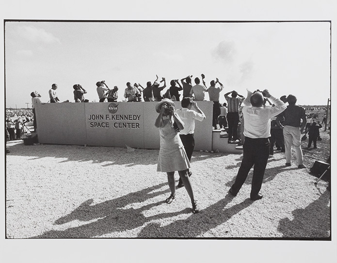 """Cape Kennedy, Florida 1969"" - Garry Winogrand"