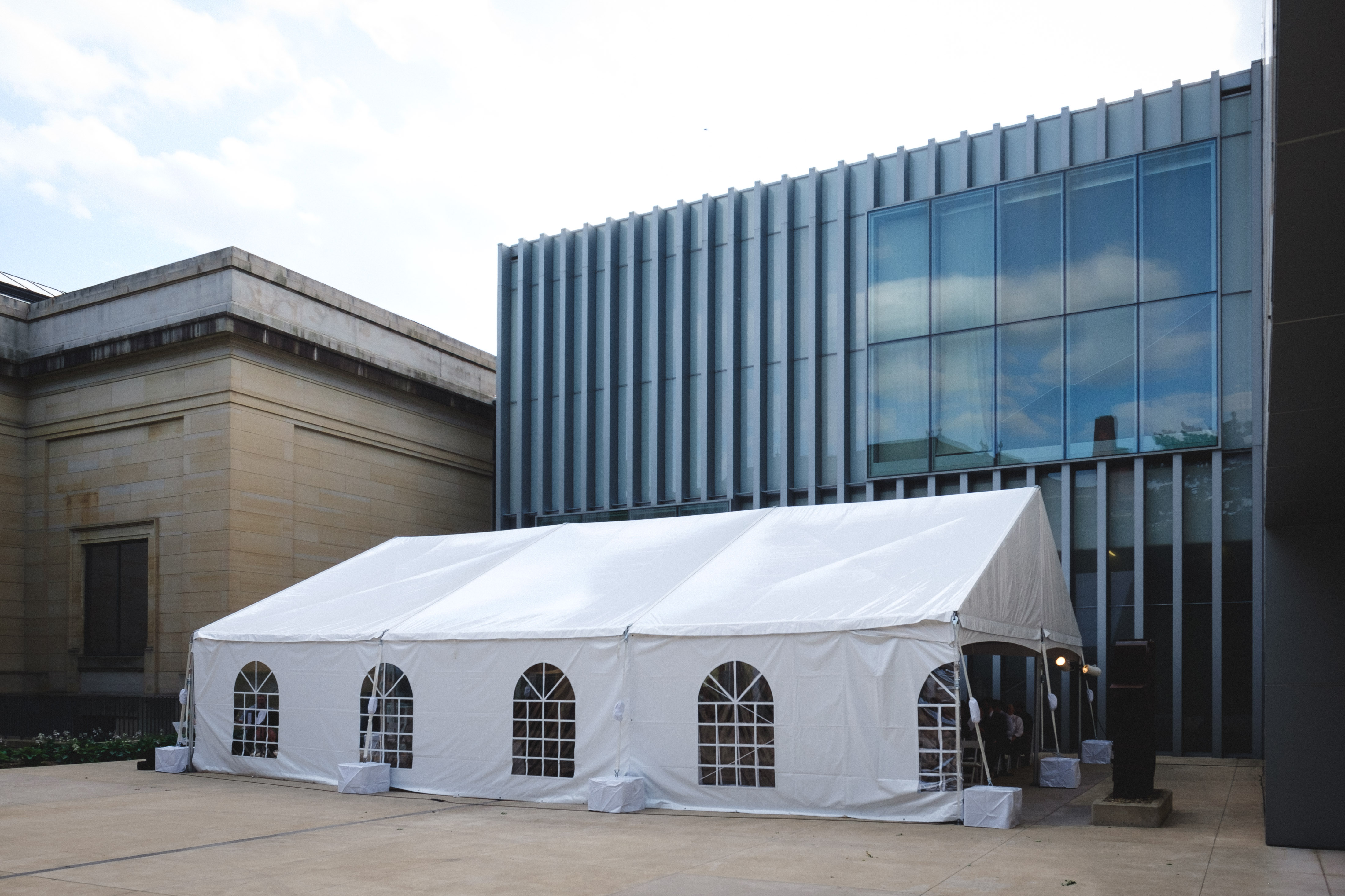 Use of Tent on Tappan Court