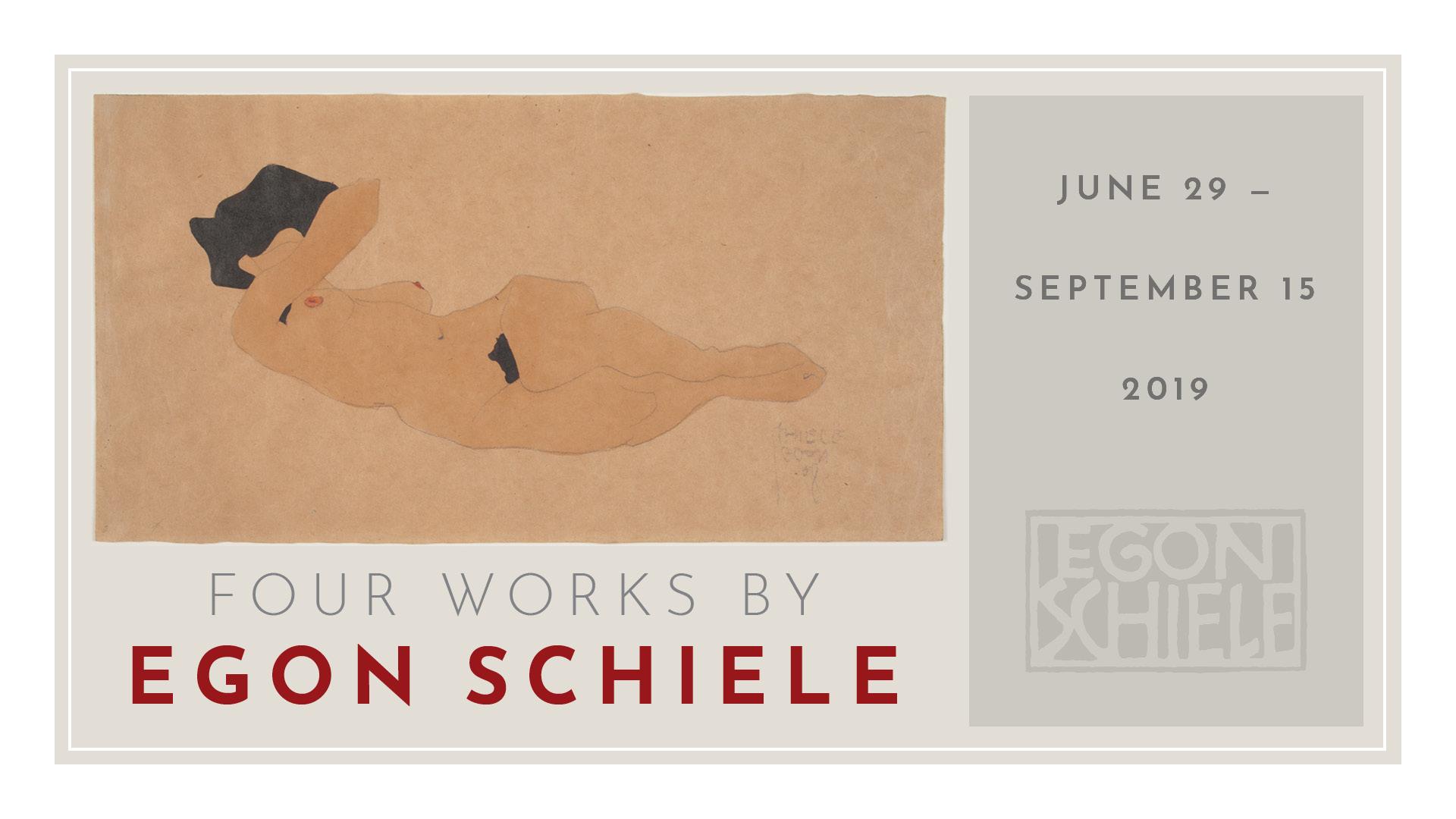New at UMMA: Egon Schiele