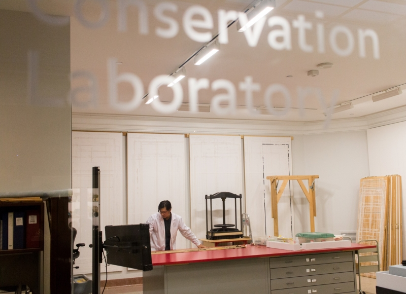 Asian Art Conservation Lab